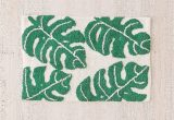 Palm Leaf Bath Rug All Over Palm Bath Mat Bath Mat Tropical Bathroom Room