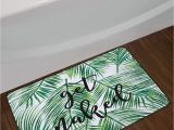 Palm Leaf Bath Rug Lb Green Tropical Coconut Leaf Bathroom Mat Black Font Get Naked Bathroom Rugs Funny Bath Mat Home Decorsoft Memory Foam Non Slip Absorbent 16×24