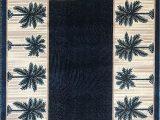 Palm Tree Design area Rugs Palm Tree Modern area Rug Tropical Turquoise & Green Design 729 5 Feet X 7 Feet