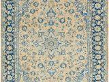 Peach and Blue Persian Rug Peach 9 6 X 13 4 Farahan Persian Rug