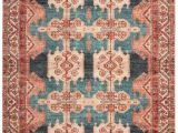 Peach and Blue Persian Rug World Market Coral Persian Style Zara area Rug In 2020