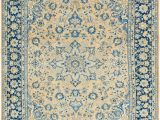 Peach and Blue Rug Peach 290cm X 405cm Farahan Persian Rug