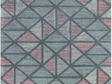 Peach and Gray area Rug Ramerian Vega 300 Vec Peach area Rug