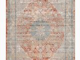 Peach and Gray area Rug Yasmin oriental Gray area Rug