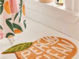 Peach Colored Bath Rugs Peachy Clean Bath Mat
