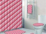 Peach Colored Bathroom Rugs Prtau Peach Old School Vintage Diagonal Lines Vibrant