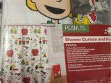 Peanuts Holiday Bath Rug Peanuts Christmas Fabric Shower Curtain W Hooks and 30 X 20 Bath Rug