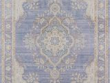Periwinkle Blue area Rug Momeni isabella Polyester Machine Made Periwinkle area Rug 2 X 3 Walmart