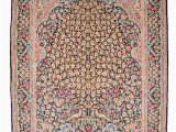 Pink and Blue oriental Rug 9 Ft X 5 Ft Black oriental Persian Rug Multi Color Yellow Pink Blue Rug Antique Wool Rug