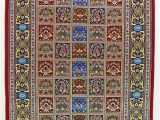 Pink and Blue oriental Rug oriental Qum Classic Wool Persian Rug Light Blue and Pink Rug 3 X 5 Rug