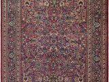 Pink and Blue Persian Rug 8 10 X 11 Mashad Persian Rug
