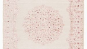 Pink and Cream area Rug Fontanne oriental Pink White Cream area Rug