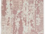 Pink and Cream area Rug Rugology Nk02 Cream Pink Reversible Double Sided Washable