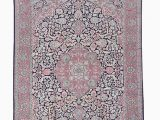 Pink and Cream area Rug Salis – Made with Loom