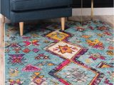 Pink and Turquoise area Rug Ariyah southwestern Turquoise Pink area Rug
