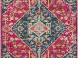 Pink and Turquoise area Rug Katie oriental Pink Turquoise area Rug