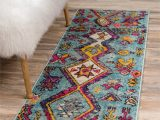 Pink and Yellow area Rugs Callista southwestern Turquoise Pink Yellow area Rug