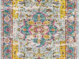 Pink and Yellow area Rugs Null