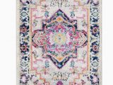 Pink and Yellow area Rugs Perchoir oriental Pink orange Yellow area Rug