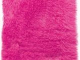 Pink Faux Fur area Rug Home Decorators Collection Faux Sheepskin area Rug 4 X6 Hot Pink