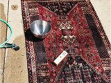Places to Get area Rugs Cleaned Rachel Schultz How to Wash A Thrifted Rug It is Easy