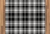 Plaid area Rug Living Room Lunarable Plaid area Rug Monochrome Style Vintage English Stripes and Checks Pattern Abstract Grunge Look Flat Woven Accent Rug for Living Room