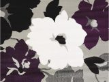 Plum and Grey area Rugs New Contemporary Modern 5×7 Room Size area Rug Purple