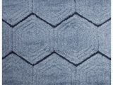 Plush Blue area Rug Garvyn Plush Carved Blue area Rug