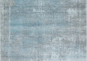 Plush Blue area Rug Mod Arte Mirage Collection area Rug Modern & Contemporary Style Abstract soft & Plush Blue Gray
