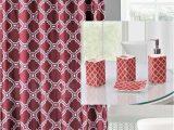 Plush Burgundy Bathroom Rugs 19pc Honey Burgundy Bathroom Set Embroidery Banded Honey Burgundy Washable Rubber Backing Anti Slip Includes 2 Bath Rug Math 1 Shower Curtain 12pc