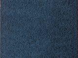Plush Navy Blue Rug Aadhya Plush Navy Blue Rug