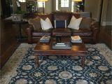 Pottery Barn Navy Blue Rug Madeline Persian Style Rug Blue Multi
