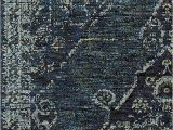 Premier Blue Lines Rug Blue Worn Faded Traditional Vintage Style Rug In 2020