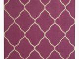 Purple and Beige area Rug Hand Tufted Wool Purple Beige area Rug