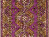 Purple and Gold area Rugs Surya Arabia Joelle area Rug