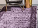 Purple and Silver area Rugs Purple 13 X 18 Miranda Rug