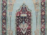 Purple and Turquoise area Rug Aines oriental Turquoise Purple area Rug