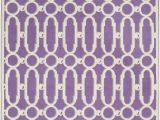 Purple and White area Rugs Safavieh Newport Npt434b Purple White area Rug