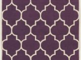 Purple and White area Rugs Surya Transit Piper area Rug