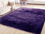 Purple area Rug for Bedroom Purple Shag Rug