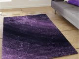 Purple area Rug for Bedroom Story Home Modern Anti Skid Abstract Premium Polyester Thick soft Shaggy area Rug Long Lasting Carpet for Bedroom Living Room Hall 3 X 5 Ft
