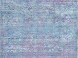 Purple Blue area Rug Light Blue 7 0 X 10 0 Aqua Rug area Rugs Purple area