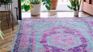 Purple Blue area Rug Rugs Apartment Urban Outfitters Urban Outfitters