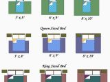 Queen Bed area Rug Size Rug Size Guide for A Bedroom