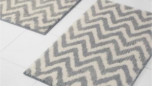 Quick Dry Bathroom Rugs Bravich Quick Dry Rugmasters Luxurious Cotton Machine Washable Quick Dry Bath Mat Pedstel Bathroom Rug Mats Grey Chevron 50x80cm Mat