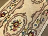 """Qvc area Rugs Royal Palace Royal Palace 2 3""""x9 6"""" Special Edition Marquis Aubusson Wool Runner"""