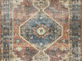 Radiant Floor Heating and area Rugs Skye Rust Blue area Rug