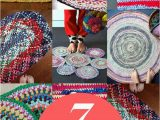 Rag Rug Bath Mat 7 Ways to Make A Rag Rug From Old Clothes