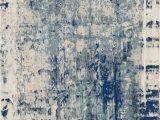 Reasor Ivory Blue area Rug Channe Blue 9 3 X 12 9 Rug