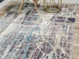 Reasor Ivory Blue area Rug Downtown Gramercy area Rug